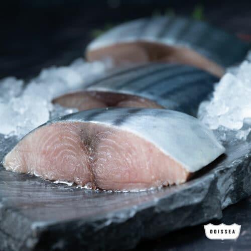 porciones de bonito con piel congeladas 1 kilo